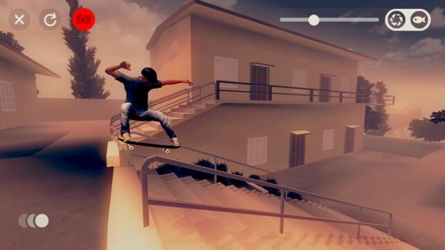 Grafikken i Skate City er laget med en haug ulike programmer, som Maya, Cinema4D, Photoshop, Sketch og Unity selv. 📸: Agens Games