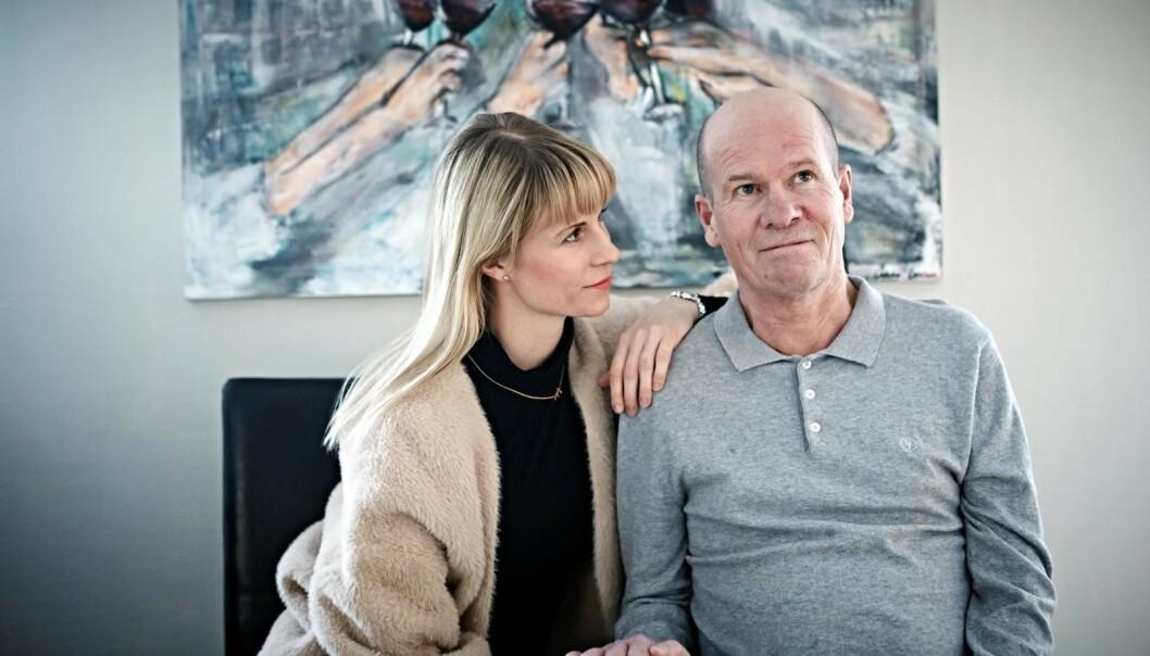 GIKK BORT: Cathrine Larsåsen har mistet sin far til den uhelbredelige sykdommen ALS. Foto: Geir Dokken / Dagbladet