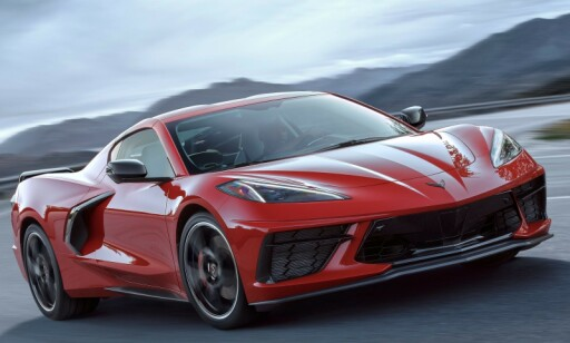 2020-MODELL: Chevrolet Corvette C8 Stingray. Foto: Chevrolet