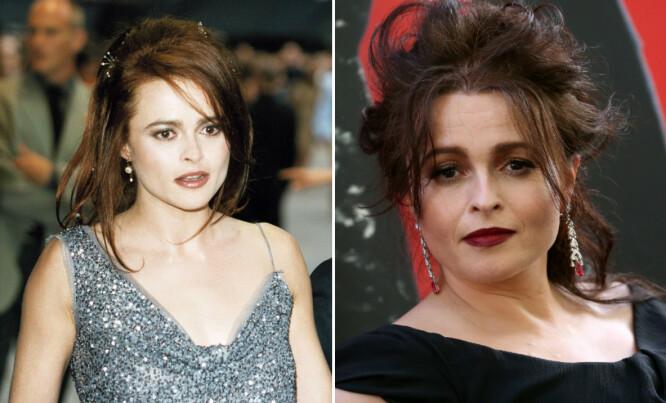 LANG FARTSTID: Helena Bonham Carter har vært en av Storbritannias mest kjente skuespillerinner i mange år. I dag er hun opptatt med innspilling av filmen «Enola Holmes» som følger Sherlock Holmes' lillesøster. FOTO: Scanpix