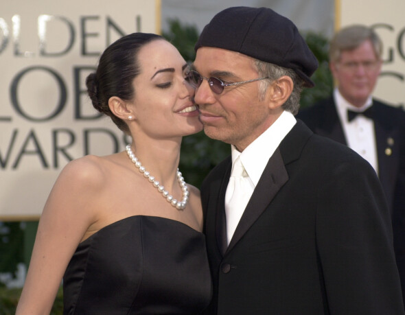 ANDRE EXSMANN: Angelina Jolie and Billy Bob Thornton at the Golden Globe Awards in January 2002. Photo: AP / NTB scanpix