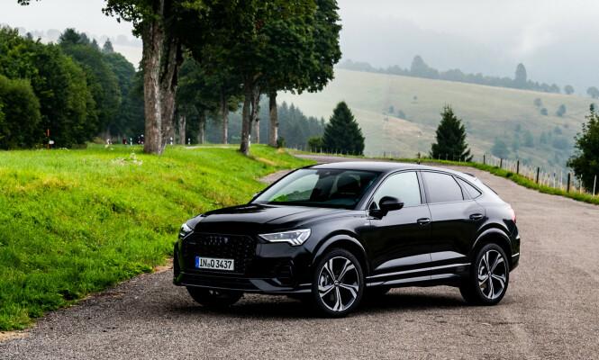 <strong>ET KLART FREMSKRITT:</strong> Nye Q3 Sportback bryter med Audis vanligvis trauste designspråk. Foto: Audi AG