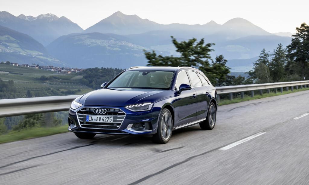 SKARPERE: A4 er blitt strammet opp ytterligere midtveis i sin livssyklus. Foto: Audi AG