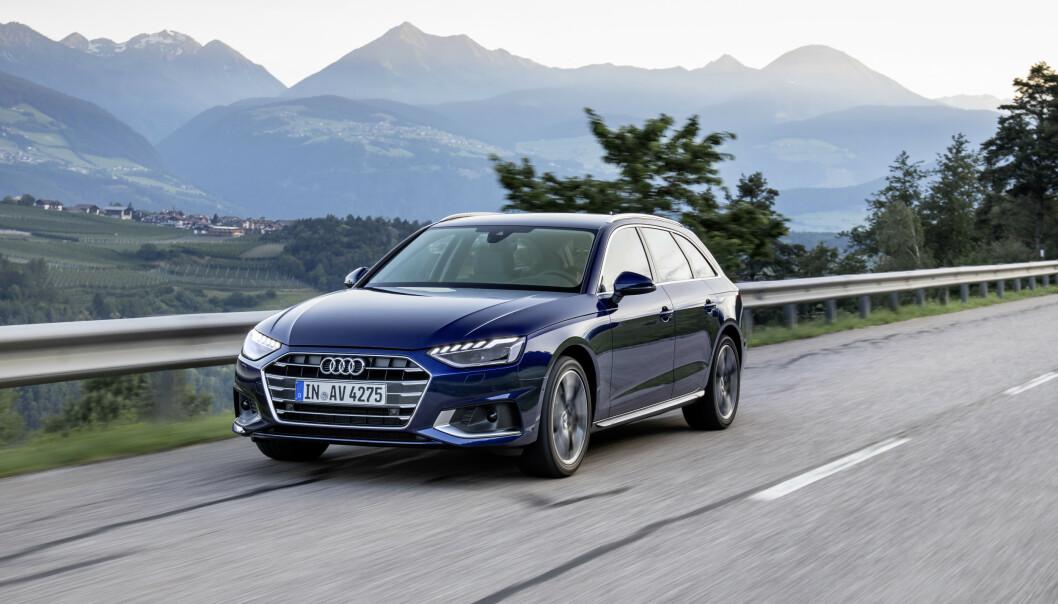 <strong>SKARPERE:</strong> A4 er blitt strammet opp ytterligere midtveis i sin livssyklus. Foto: Audi AG