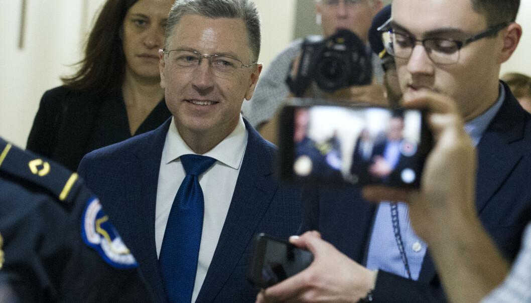 Tekstmeldinger fra Ukraina-diplomater om Trumps krav frigitt