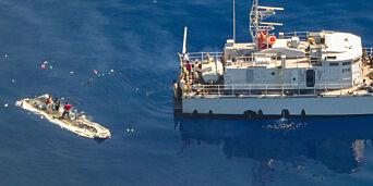image: Norge skal ikke ta imot båtmigranter