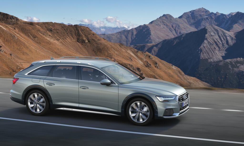 SUV-ALTERNATIV: Nye Audi A6 ble lansert som Allroad tidligere i år. Foto: Audi AG