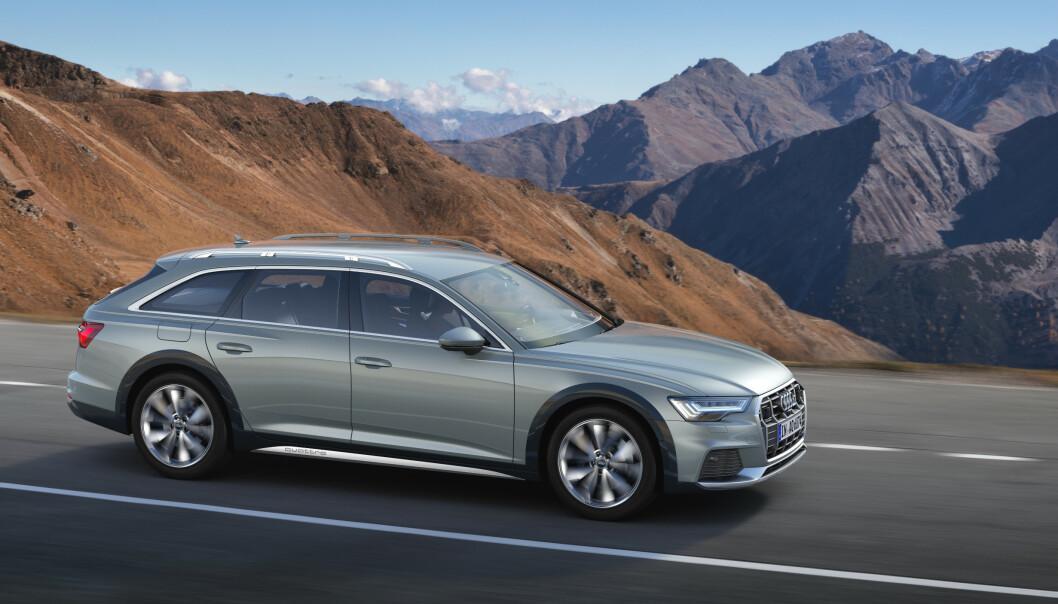<strong>SUV-ALTERNATIV:</strong> Nye Audi A6 ble lansert som Allroad tidligere i år. Foto: Audi AG