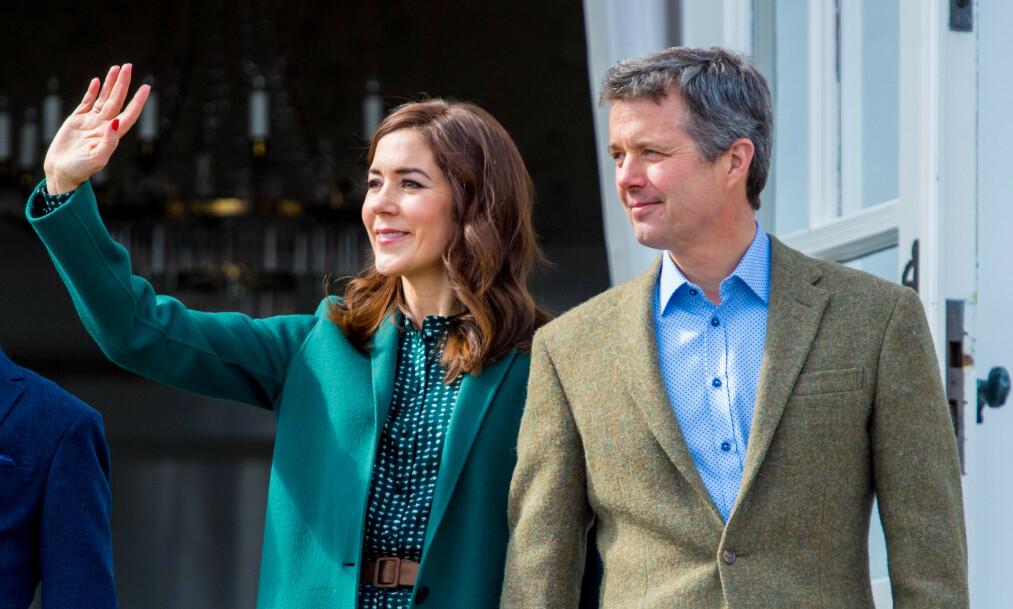 NY ROLLE: Kronprinsesse Mary av Danmark er utnevnt som riksforstander, en ære som er historisk. Hennes svigerfar fikk aldri æren før han døde. Foto: NTB scanpix