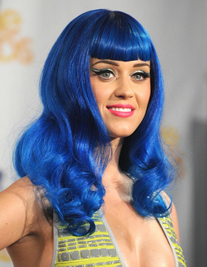 KATY PERRY: Dette er den ekte Katy Perry. Foto: Scanpix