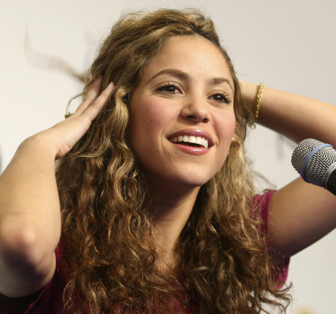 SHAKIRA: Dette er den ekte Shakira. Foto: Scanpix