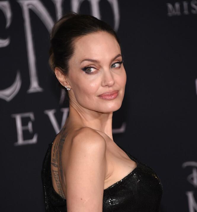 ANGELINA JOLIE: Dette er den ekte Angelina Jolie. Foto: Scanpix