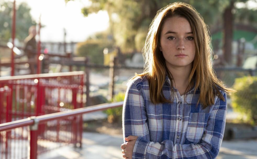 TRUE CRIME-SERIE: Skuespiller Kaitlyn Dever kapret hovedrollen som voldteksofferet Marie Adler i Netflix nye «Unbelievable». FOTO: Netfix