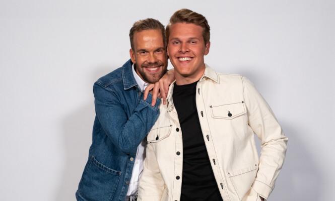 NOMINERT: Morten Hegseth (33) og Vegard Harm (23). Foto: TV 2