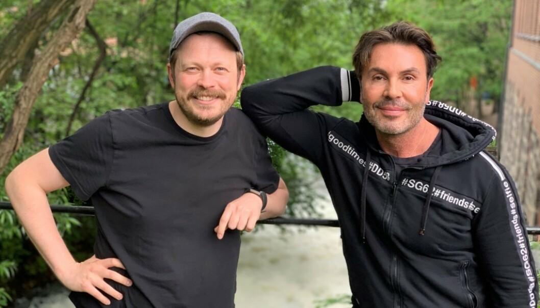 NOMINERT: Jan Thomas (52) og Einar Tørnquist (37). Foto: Discovery