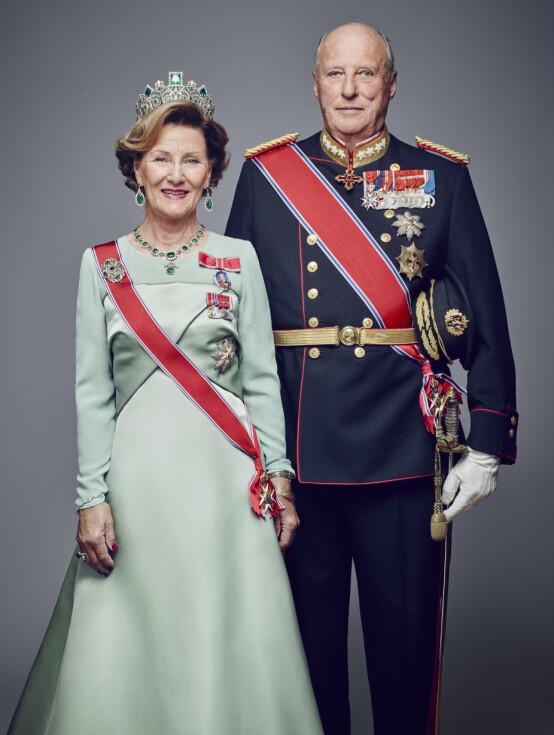 KONGELIG KJÆRLIGHETSHISTORIE: Dronning Sonja og kong Harald måtte kjempe for kjærligheten. I fjor feiret de 50 års bryllupsdag. Foto: Jørgen Gomnæs / Det kongelige hoff