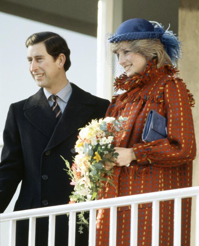 SKANDALE: Prins Charles og avdøde prinsesse Diana kan vel ikke sies å ha hatt et lykkelig ekteskap. Her er den kongelige duoen i 1982, ett år etter bryllupet. Foto: NTB Scanpix