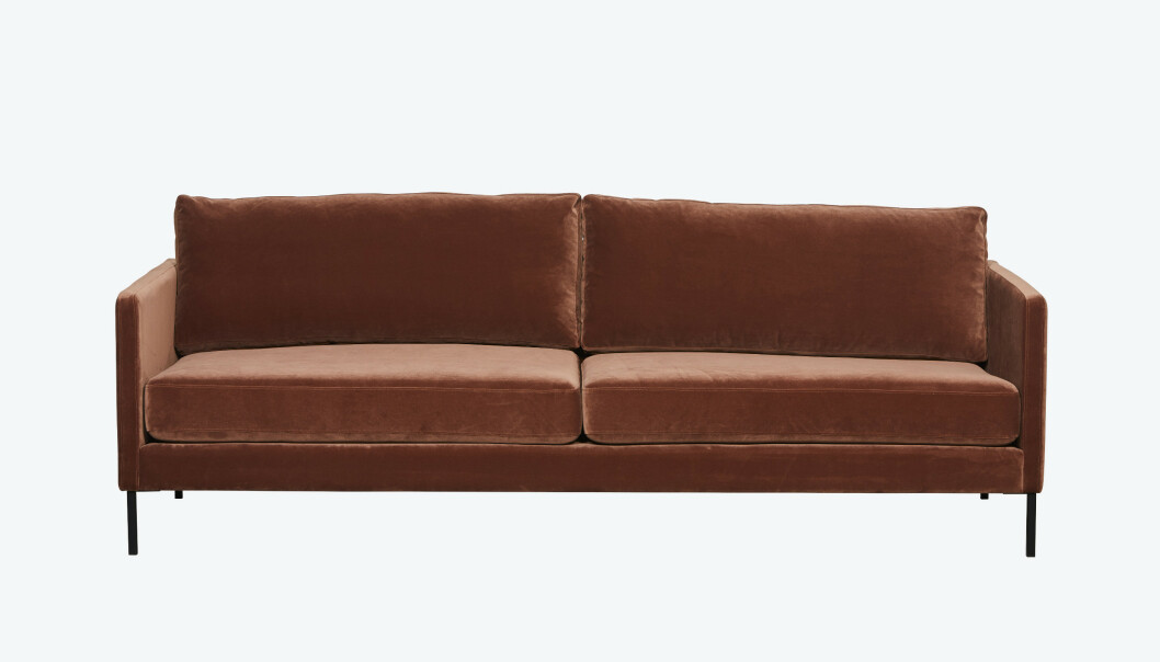 Myk og innbydende sofa (kr 14 995, Home and Cottage). FOTO: Produsenten