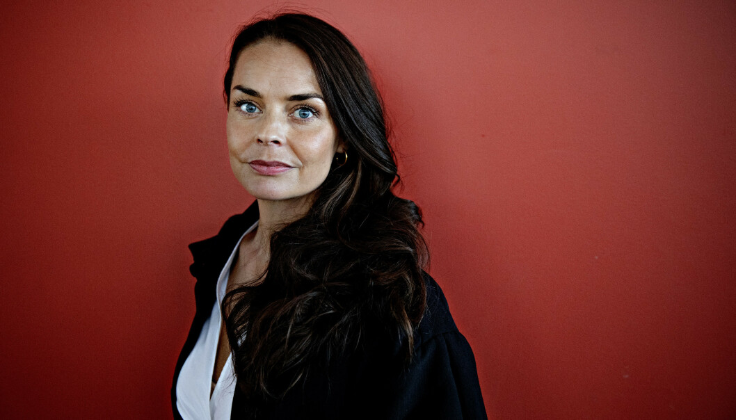 SPILLER HERMINE: PÅ privaten er Agnes Kittelsen gift med den svenske musikeren Lars Winnerbäck (43). Foto: Nina Hansen / Dagbladet