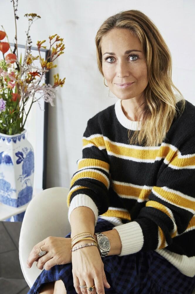 Sussie elsker å finne skatter på loppemarked, og favoritten hennes er uten tvil vaser i alle størrelser. FOTO: Anitta Behrendt