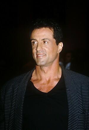 SJALU: Sylvester Stallone, her fotografert i 1993, ville gjerne prate med Diana, men ble sjanghaiet av Gere. Det førte til drama. Foto: NTB scanpix