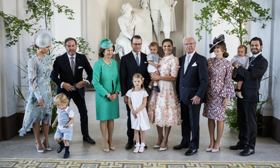 ENDRINGER: Det svenske kongehuset skriver i en pressemelding at barna til prinsesse Madeleine og prins Carl Philip ikke lenger vil tilhøre kongehuset. Foto: NTB Scanpix