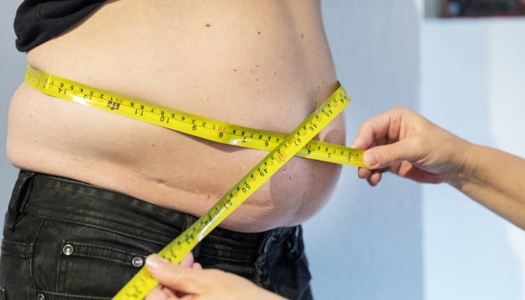 <strong>LAVT TESTOSTERON:</strong> Magefettet hos menn påvirker produksjon av testosteron. Foto: NTB Scanpix