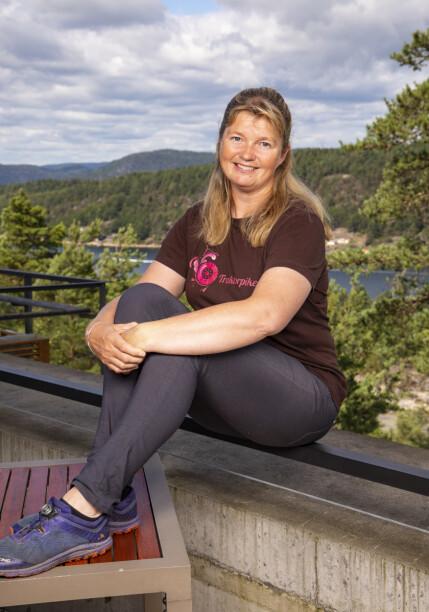 HEMMELIG SYKDOMSDRAMA: «Farmen»-deltakeren Agna Hollekve (47) ble alvorlig syk under «Farmen»-oppholdet. Nå forteller hun hva som skjedde. Foto: Tor Lindseth / Se og Hør