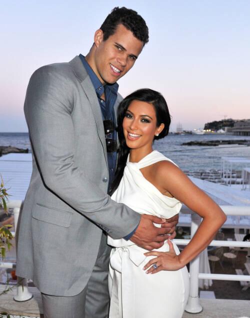 EKTESKAP NUMMER TRE: Før Kim Kardashian giftet seg med Kanye West, og også tok etternavnet hans, var hun gift med Damon Thomas og Kris Humphries (avbildet). Foto: NTB Scanpix