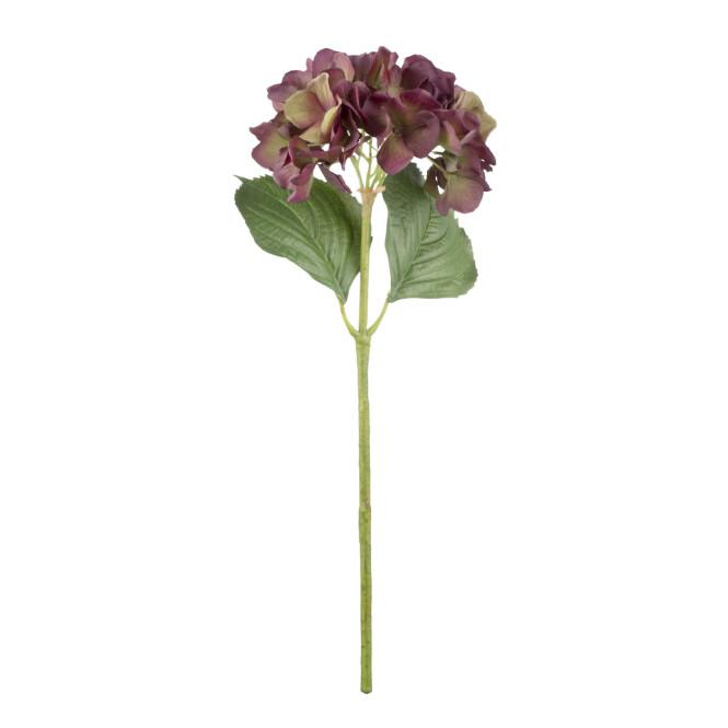 Kunstig hortensia (kr 180, Lene Bjerre). FOTO: Produsenten