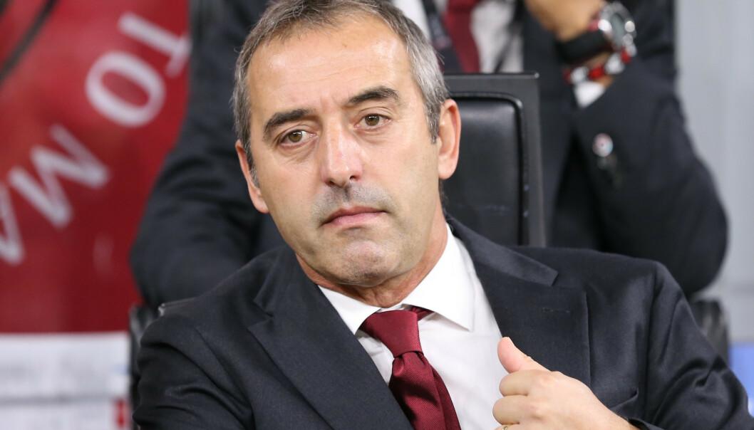 <strong>FERDIG:</strong> Marco Giampaolo fikk bare syv kamper som trener for Milan. Foto: Jonathan Moscrop / Sportimage / NTB Scanpix