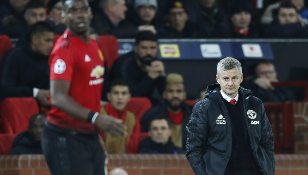 Manchester United manager Ole Gunnar Solskjær er under et voldsomt press om dagen. Foto: Erik Johansen / NTB scanpix