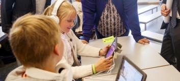 Nettbrett i klasserommet