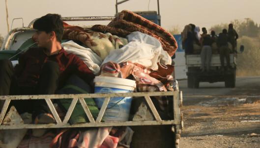 Tyrkiske bakkestyrker har tatt seg inn i Syria