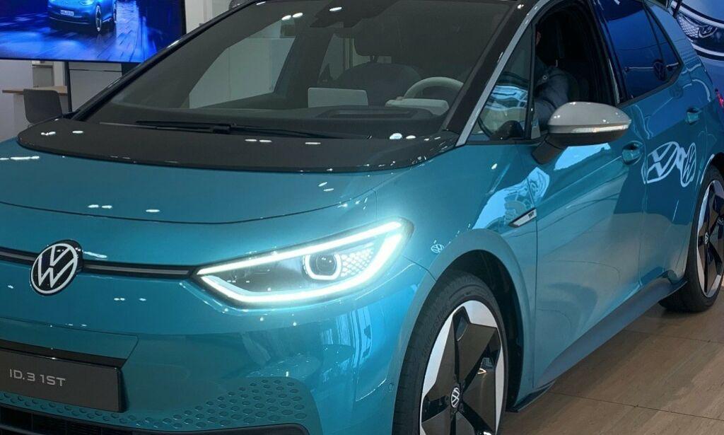 image: Her dukket plutselig VW ID.3 opp i Norge