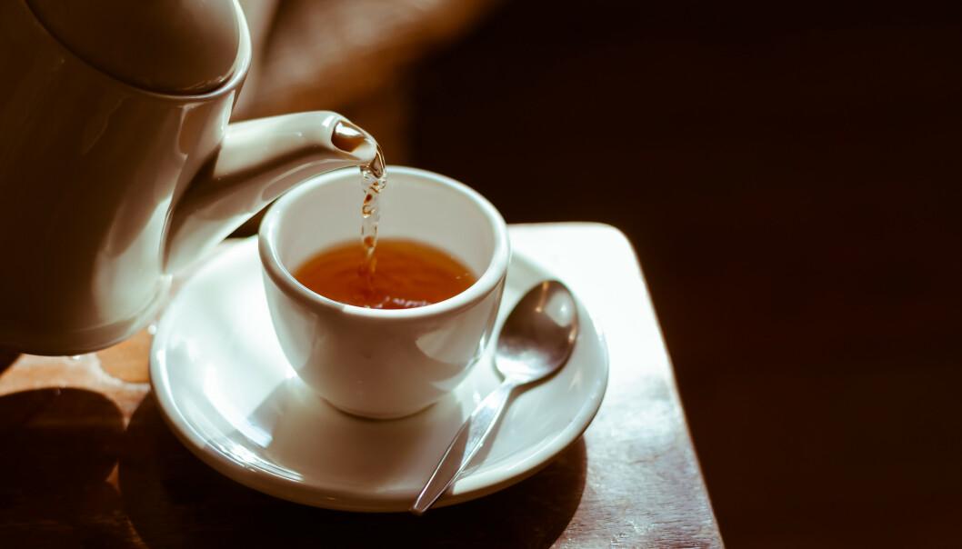 VARM DRIKKE: Ville du byttet ut kaffen med te? Njai. FOTO: NTB Scanpix