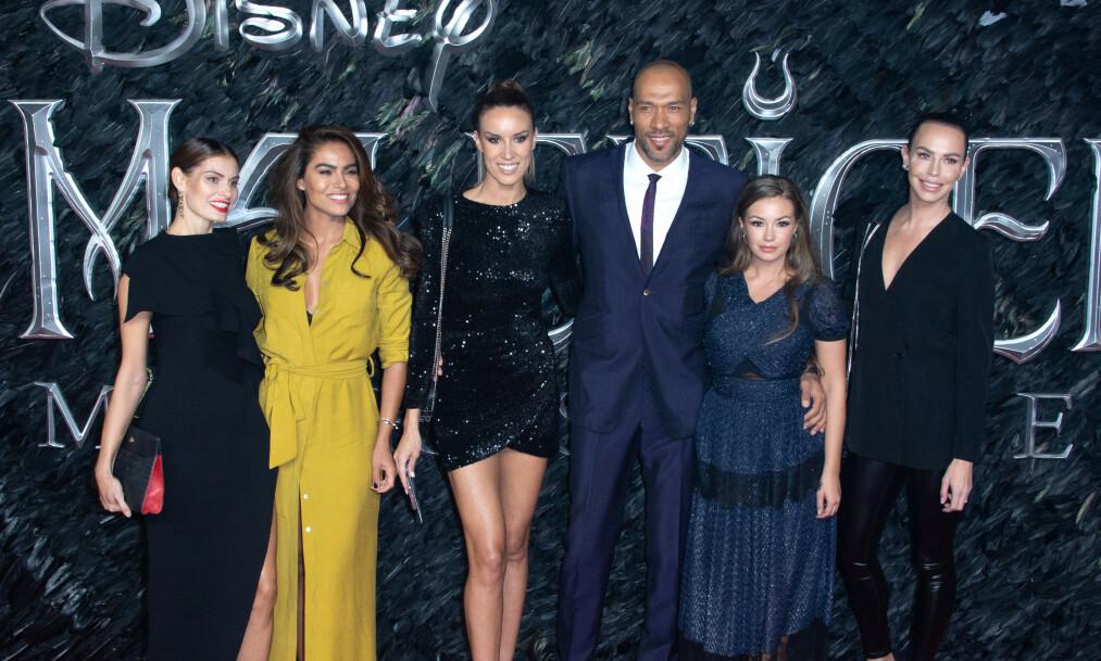 <strong>STJERNESPEKKET:</strong> John Carew dukket opp på den røde løperen for premiere av «Maleficent: Mistress Of Evil». Foto: NTB Scanpix