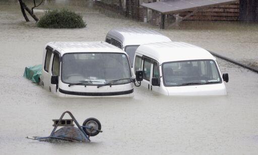 image: Dødstallet stiger etter tyfonen i Japan