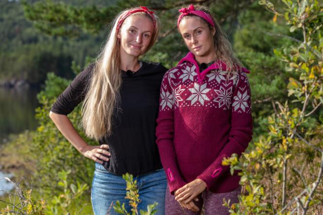 MØTTES I TVEKAMP: Førstekjempe Ingebjørg Monique Haram utpekte Stine Alice Claussen-Væringstad som andrekjempe. Sistnevnte innrømmer at hun opplevde det som skuffende. Foto: TV 2 / Alex Iversen