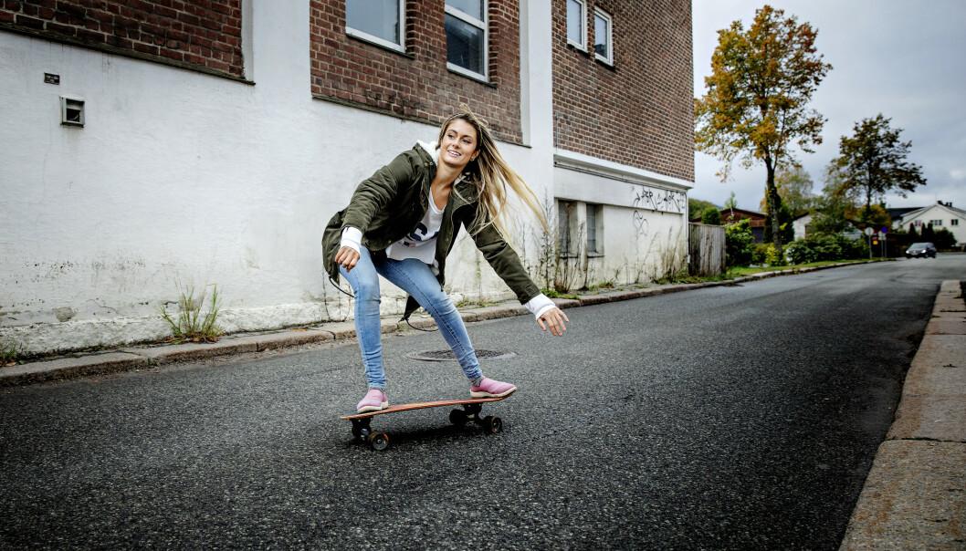 SKULLE FLYTTE: 22-åringen hadde egentlig planer om å flytte til Australia, da hun fikk tilbud om å være med på «Farmen». Hun angrer ikke på beslutningen om å delta. Foto: Nina Hansen / Dagbladet
