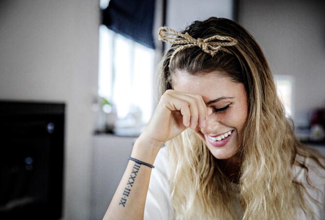 ANGRER IKKE: Stine Alice Claussen-Væringstad er takknemlig for å sitte igjen igjen med gode minner, og vennskap etter deltakelsen. Foto: Nina Hansen / Dagbladet