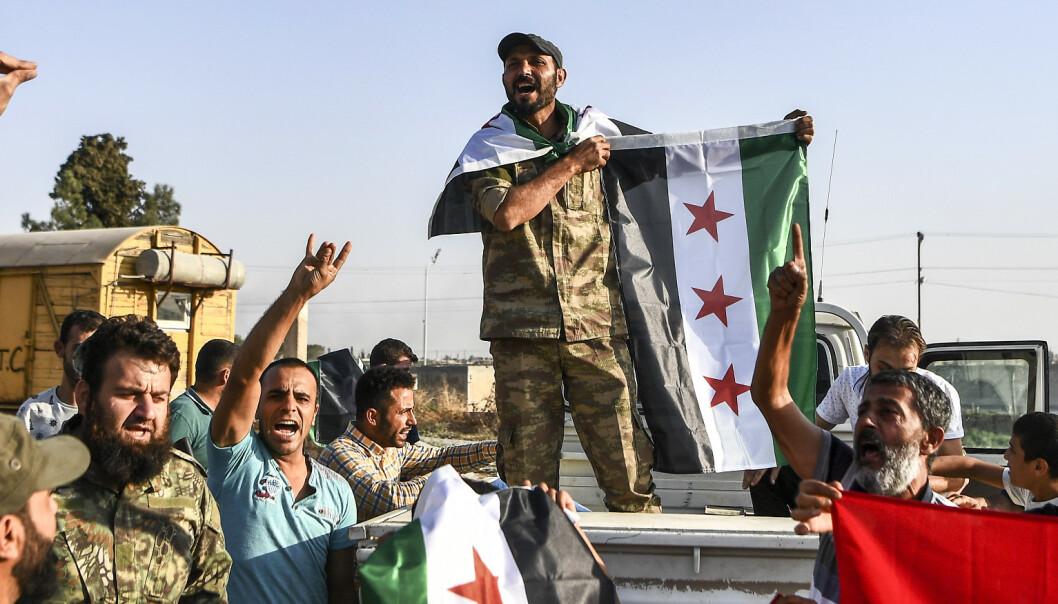 Syrias regjeringshær skal ha inntatt by nær Tyrkias grense