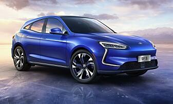 SERES: Vil Seres S% kunne bli en konkurrent til dagens biler på markedet? Foto: Seres