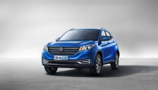 NY SUV: El-SUV'en fra kinesiske DFSK kommer til neste år. Foto: produsenten.