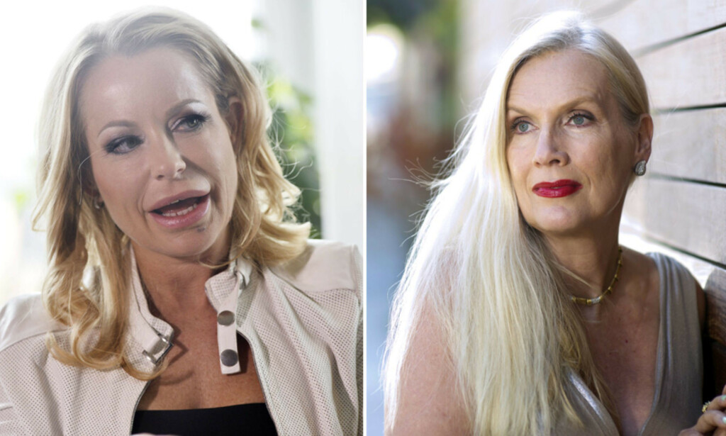NY EPOKE: Åsa Vesterlund og Gunilla Persson har kranglet høylytt og vært bitre fiender på TV-skjermen i årevis. Nå virker det som at pipa har fått en annen lyd. Foto: TV3