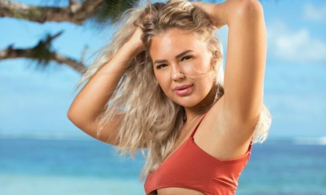 Siv og ole ex on the beach