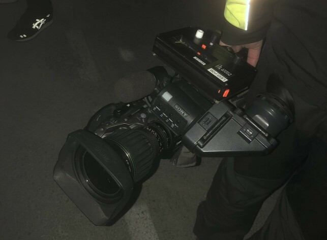 STOLEN: On Monday night, this valuable camera was stolen. Photo: Leangen Travbane