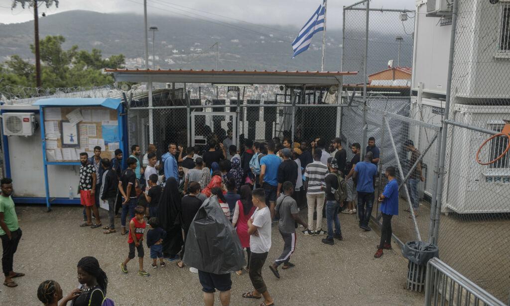 image: Minst tre menn knivstukket på overfylt asylmottak i Hellas