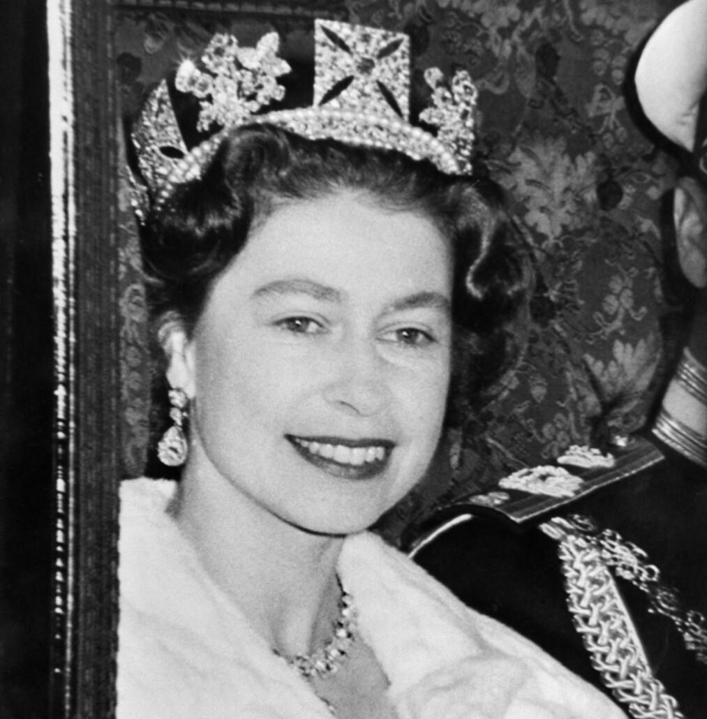 Her finner du 5 ting du kanskje ikke viste om Dronning Elisabeth. Dette bildet er tatt av dronningen i 1962. Foto: NTB Scanpix.