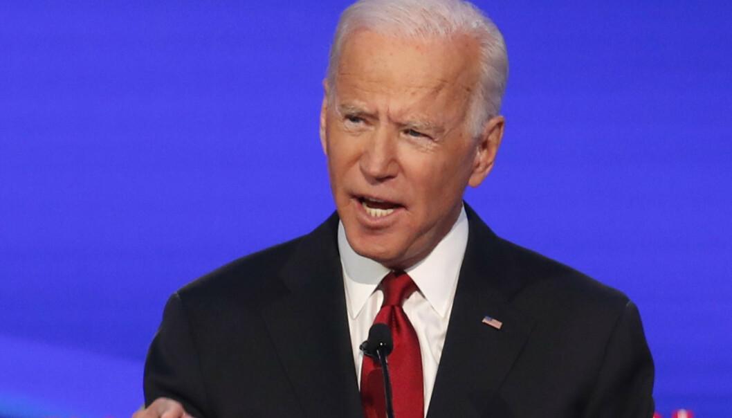 Biden forsvarte sønnen under TV-debatt